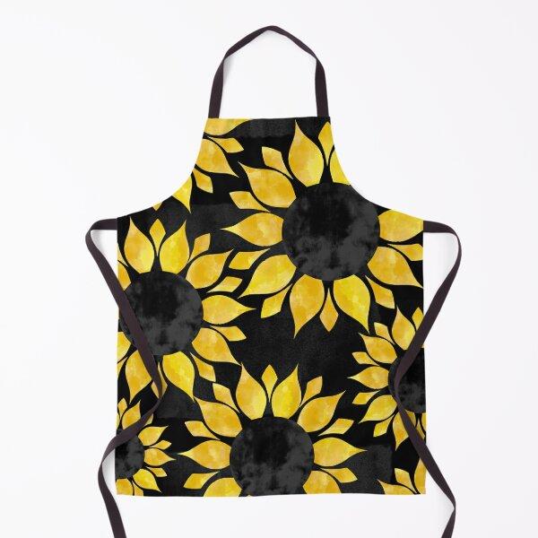 Sunflowers Dancing in the Dark Apron