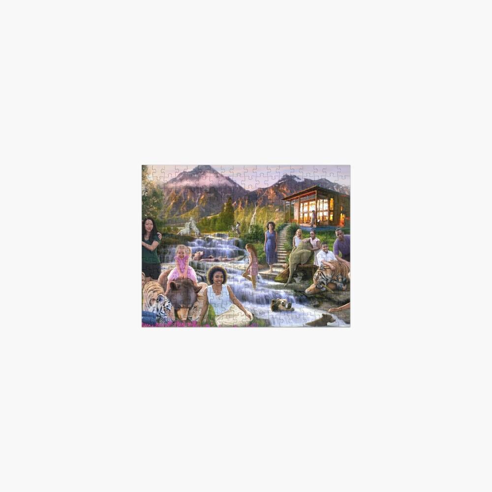 Mountain Paradise Jigsaw Puzzle