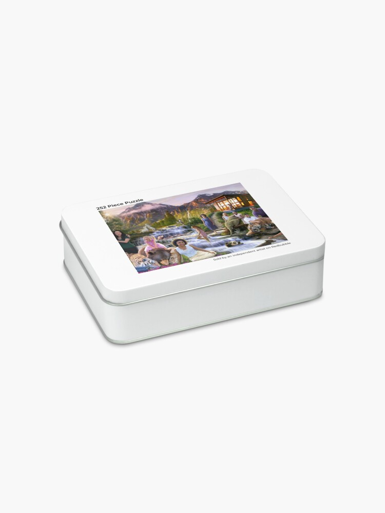 Alternate view of Mountain Paradise Jigsaw Puzzle