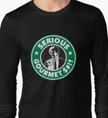 Some Serious Gourmet Coffee (clean) Long Sleeve T-Shirt