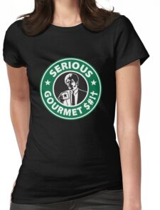 Some Serious Gourmet Coffee (clean) Womens Fitted T-Shirt