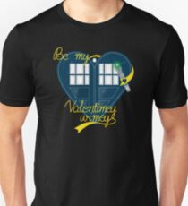 Be my Valentimey-wimey? Unisex T-Shirt
