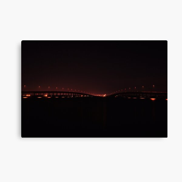 Harbor, As Is Canvas Print