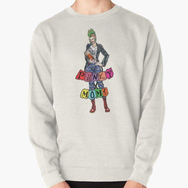 Minerva OG Punky Moms Logo Pullover Sweatshirt