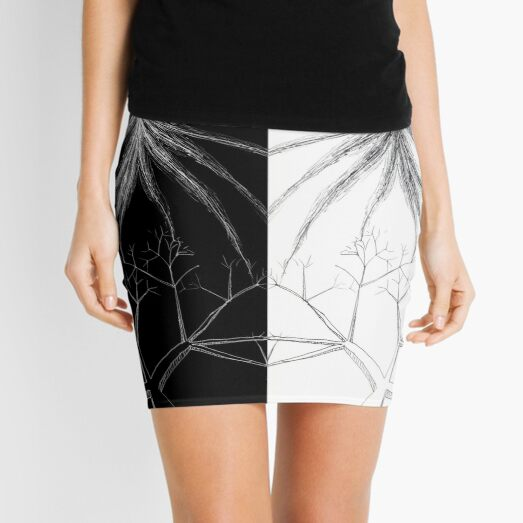 Elusive Enlightenment Octopus Mini Skirt