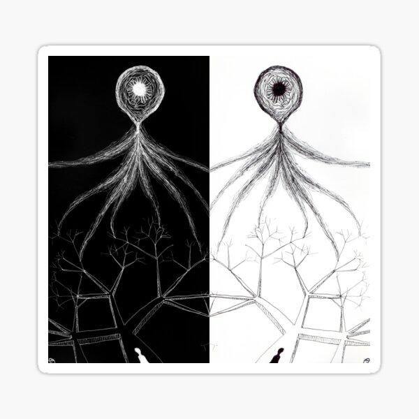 Elusive Enlightenment Octopus Sticker