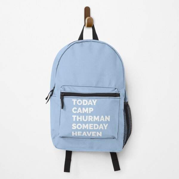 Today Camp Thurman Someday Heaven Blue Backpack