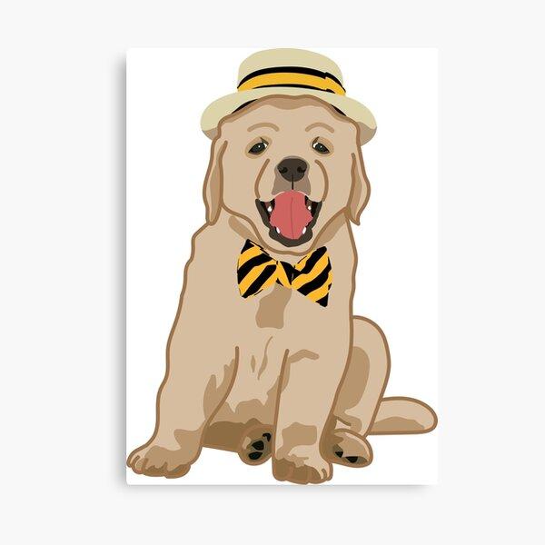 Mizzou Puppy Canvas Print