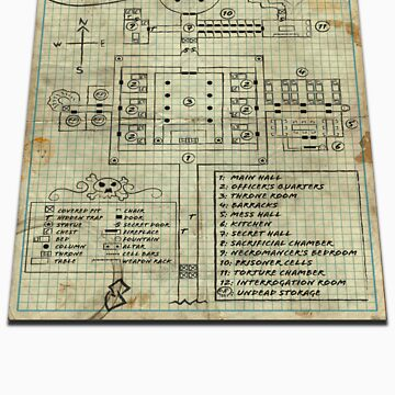 Dungeon Scrawl (Large Print) by PinMatt