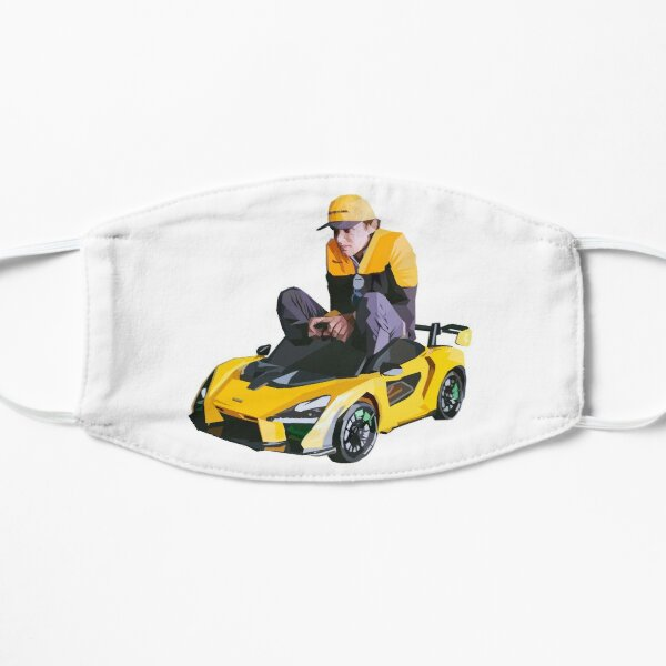 Roues sur la McLaren Masque sans plis