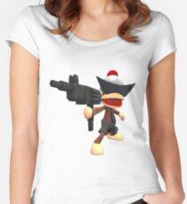 Camiseta entallada de cuello redondo GVNG $ TER MONO - ACTUALIZAR