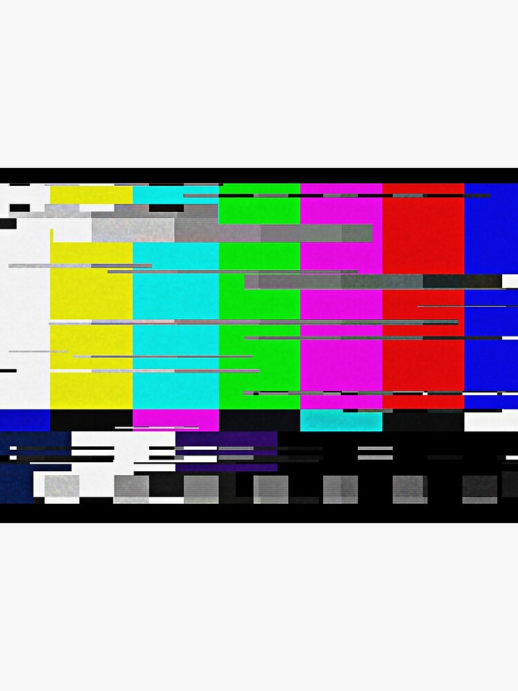 Glitchy TV colorbar by EpicycleStudios