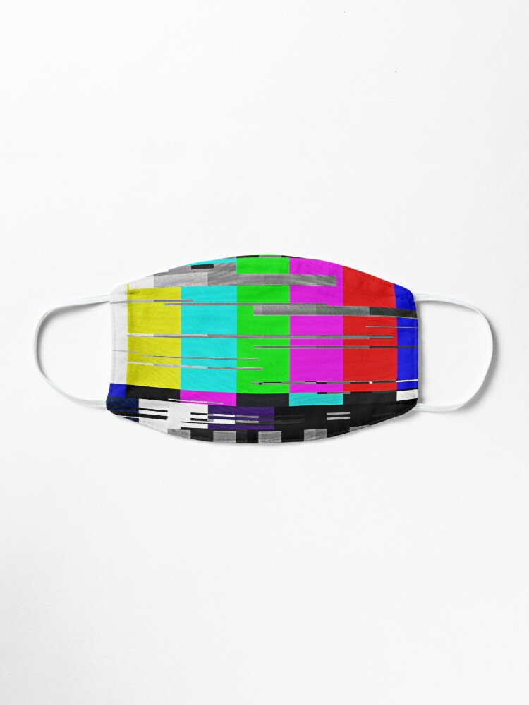 Alternate view of Glitchy TV colorbar Mask