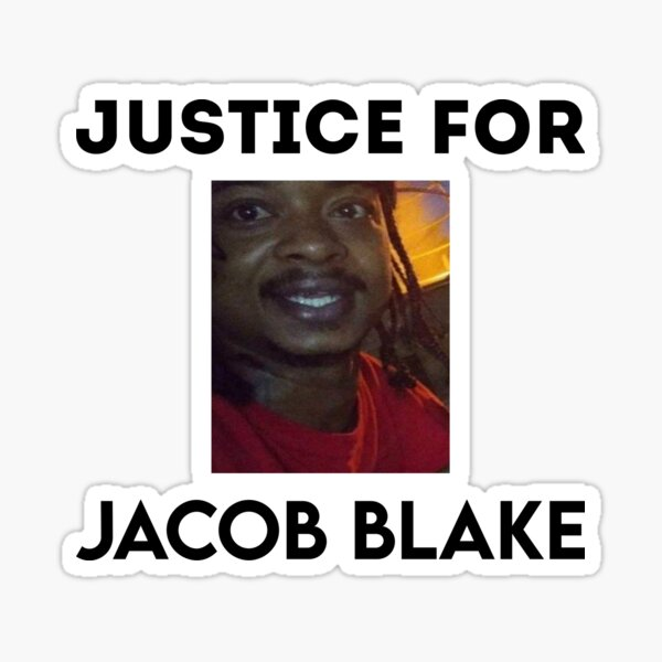 Jacob Blake Justice Stickers | Redbubble