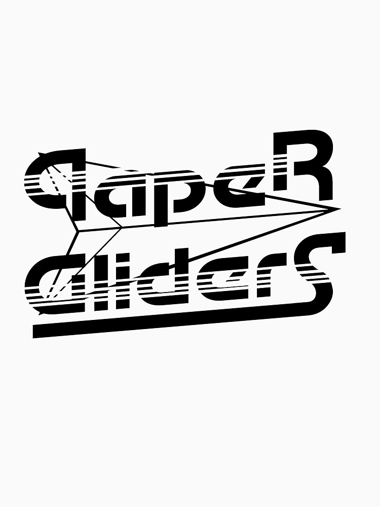 Paper Gliders (Black Design #1) by vaughnchung18