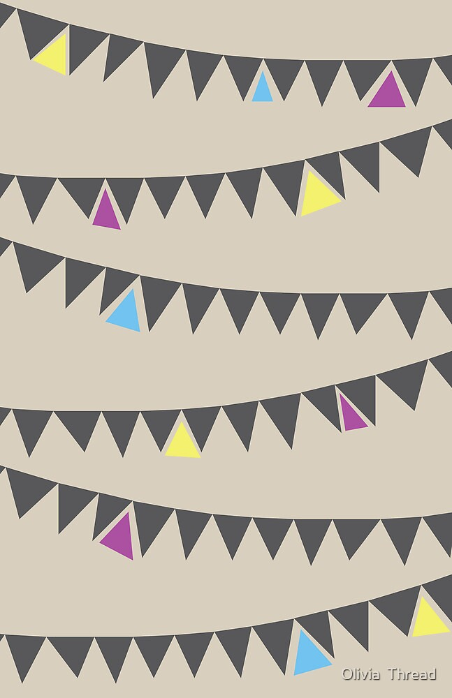 Triangle Banners by Olivia  Thread