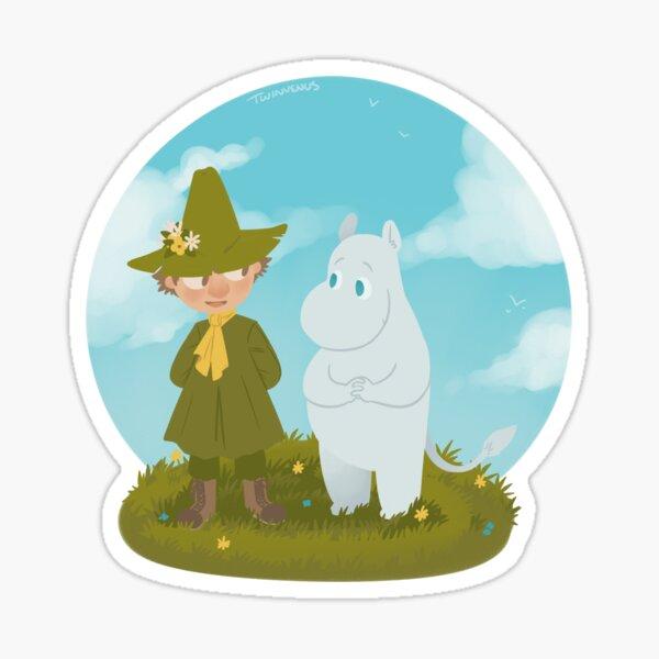 Moomintroll & Snufkin Sticker