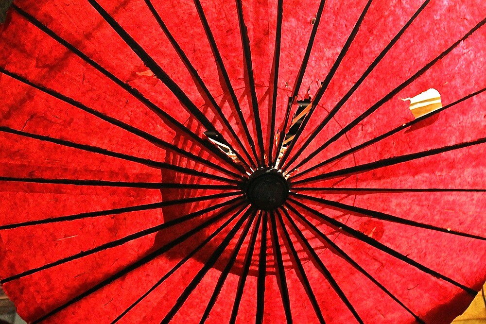 Red Umbrella  by Jasmin Watson