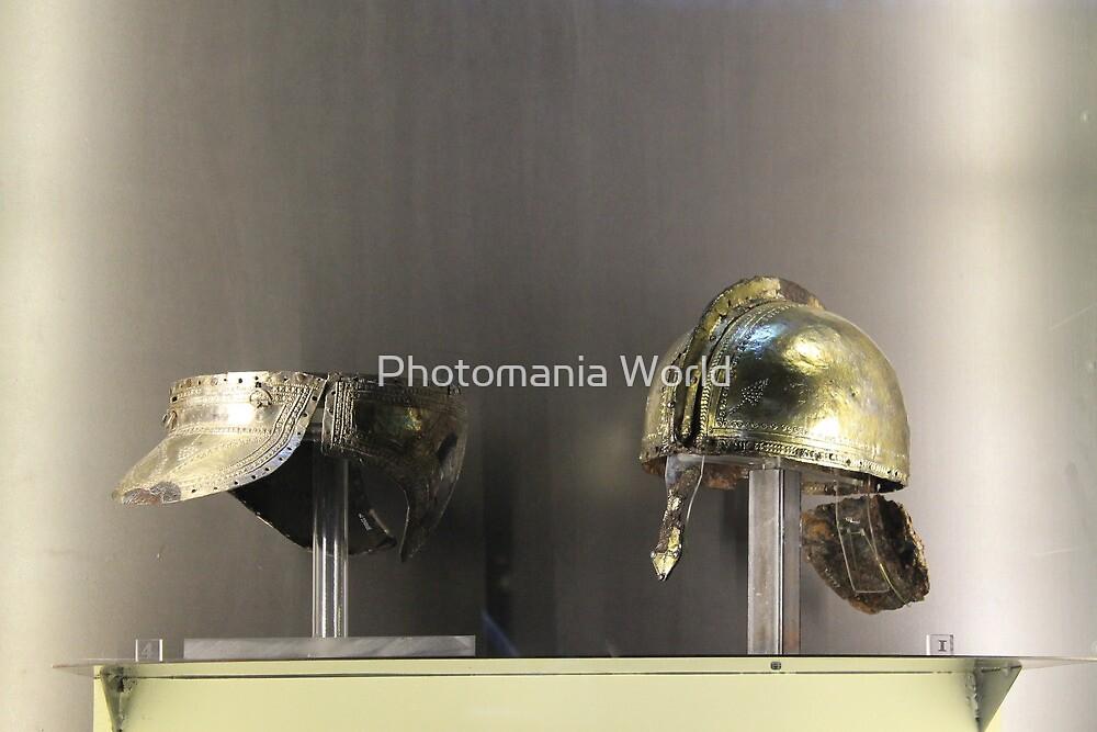 Roman Helmets by Katherine Hartlef