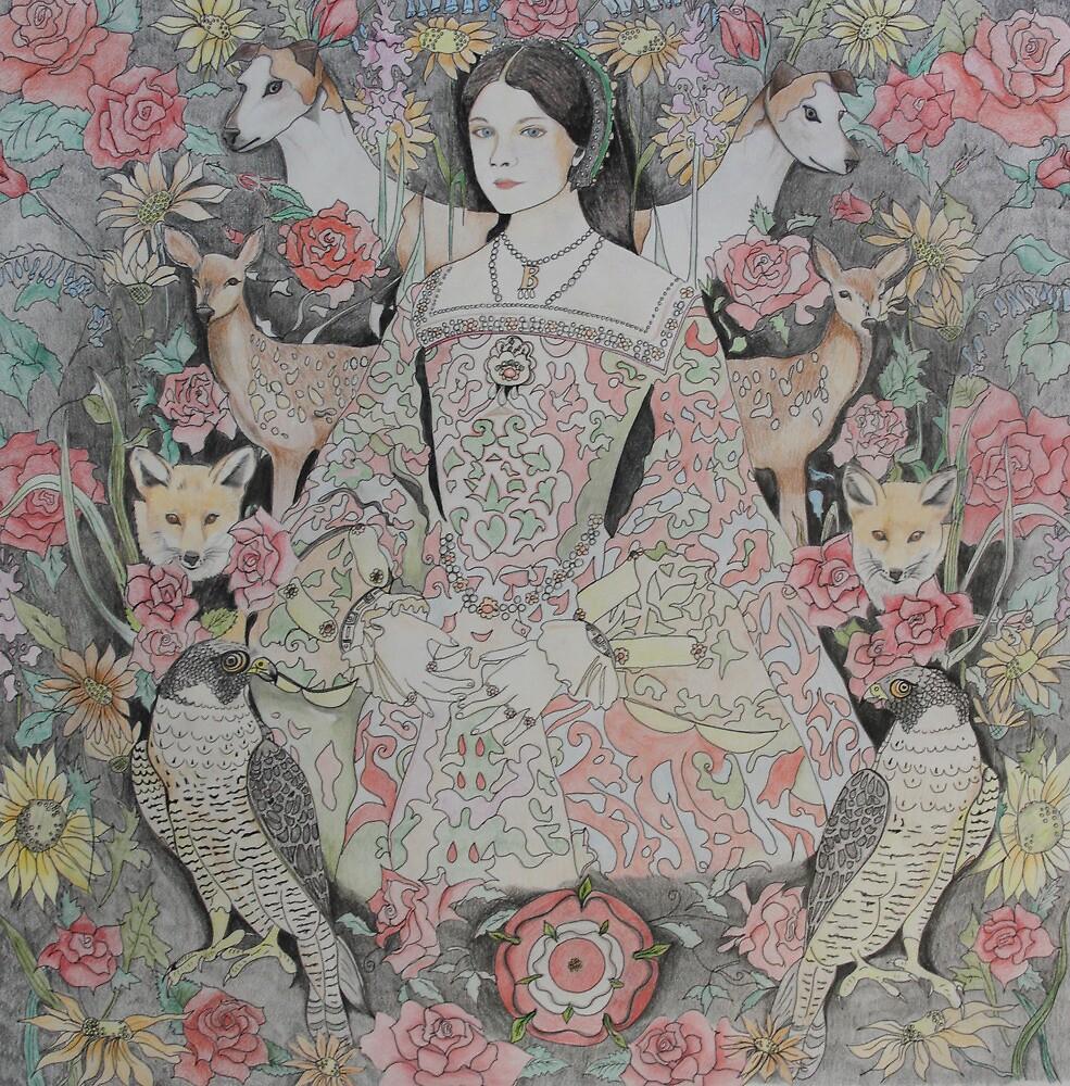 Anne Boleyn by Belinda Maria Longsden