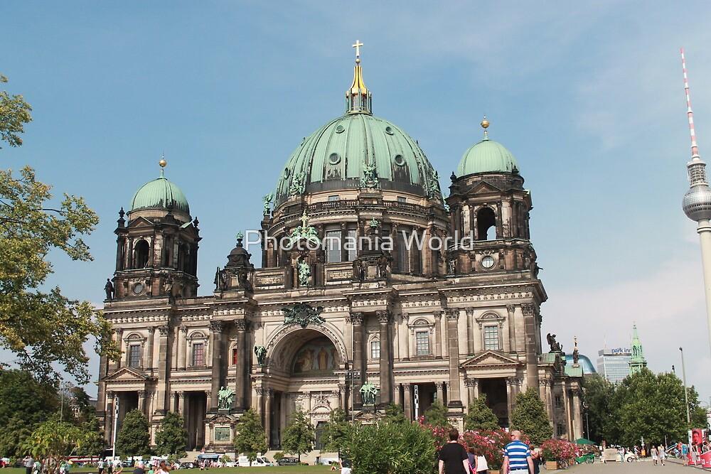 Berlin Church by Katherine Hartlef