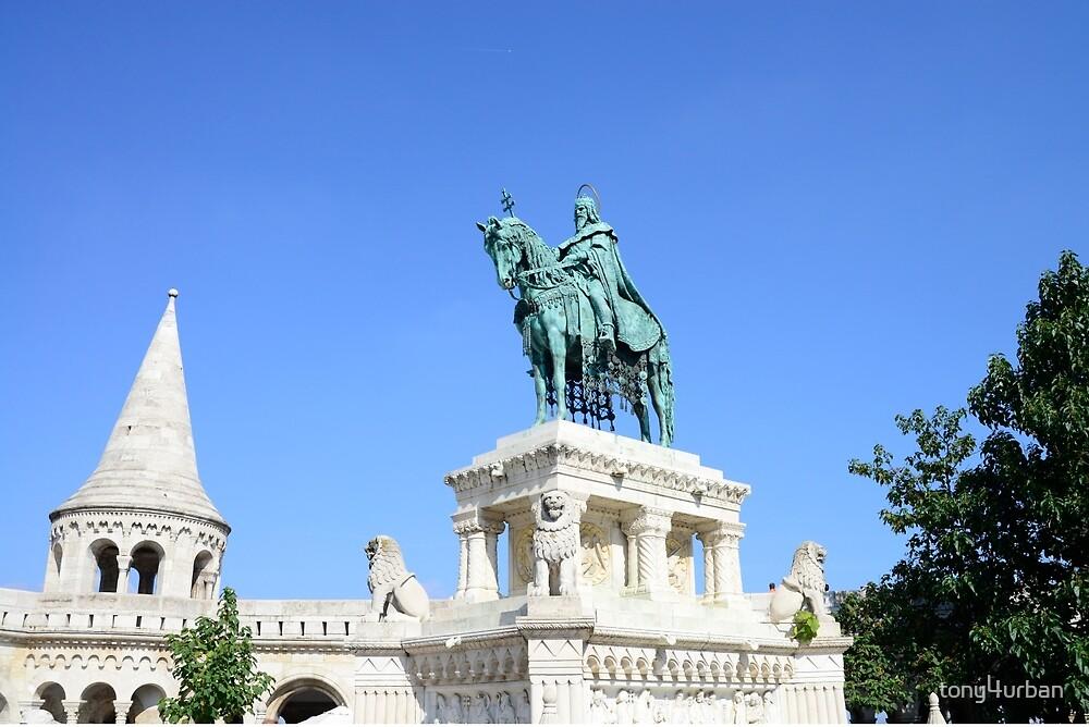 Saint Stephen Statue by tony4urban