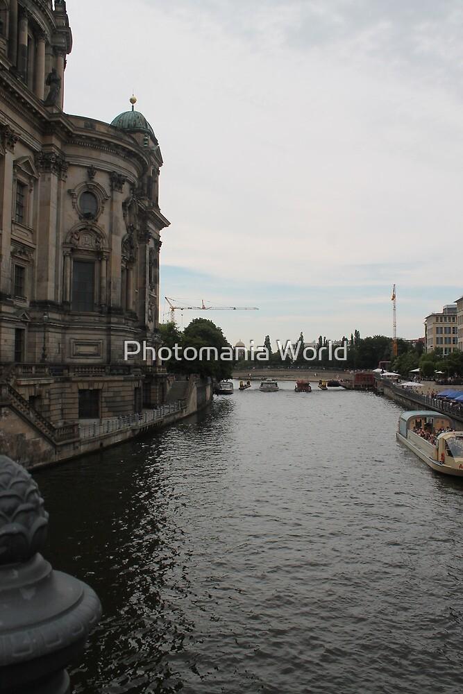 Berlin Buildings by Katherine Hartlef
