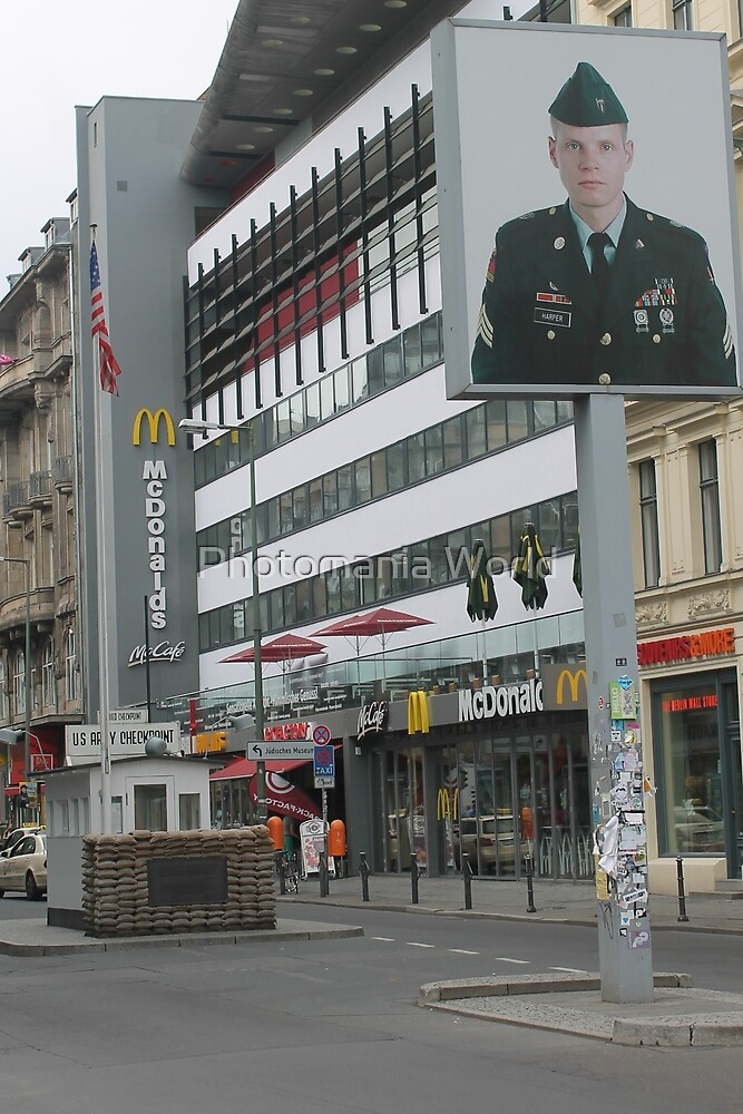 Check point Charlie by Katherine Hartlef