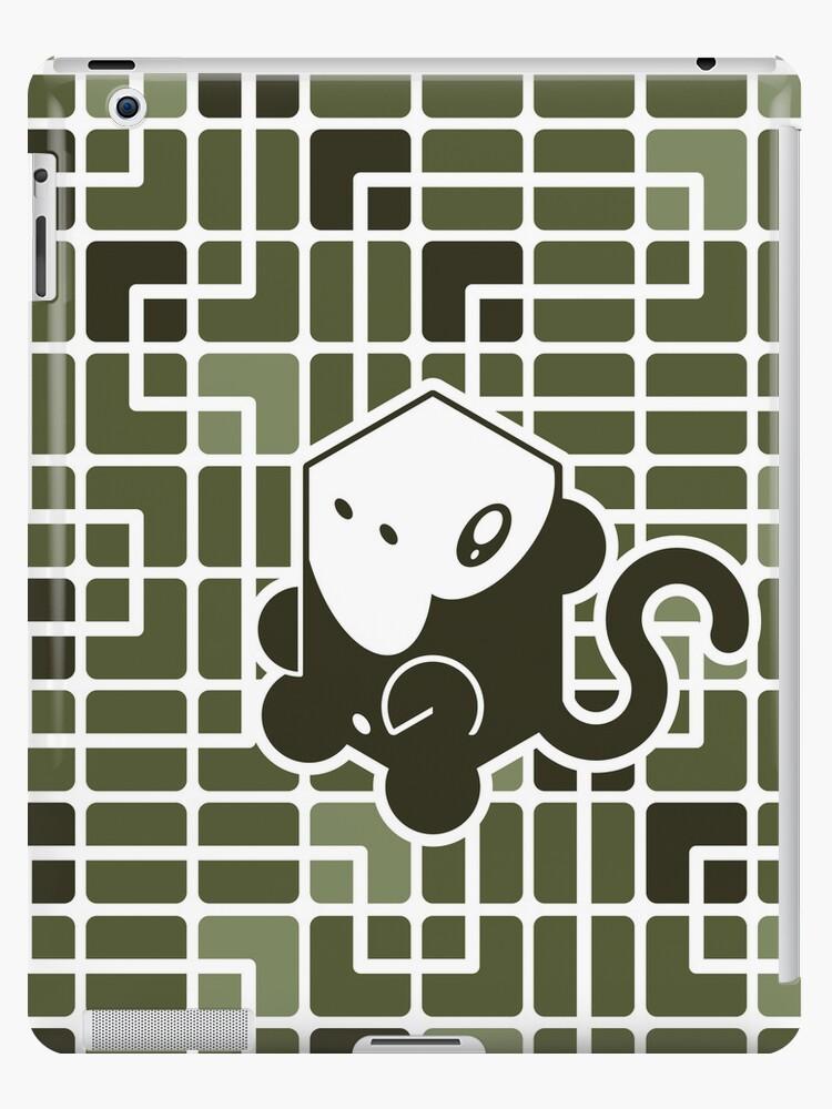 Cube Animals: The Monkey by digitalstoff