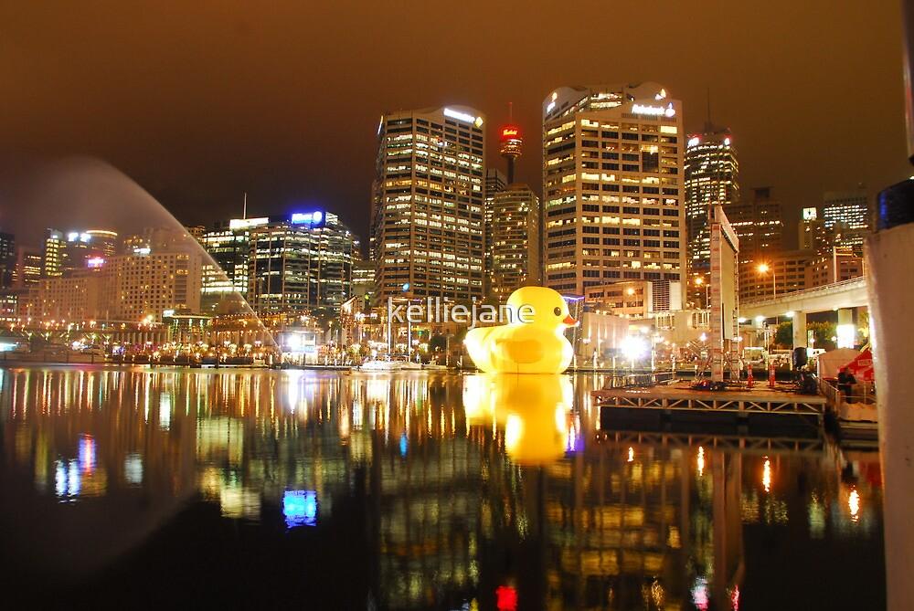 Rubber Duck in Darling Harbour by kelliejane