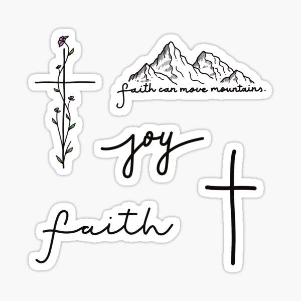 Christian/Religious Sticker Pack Sticker