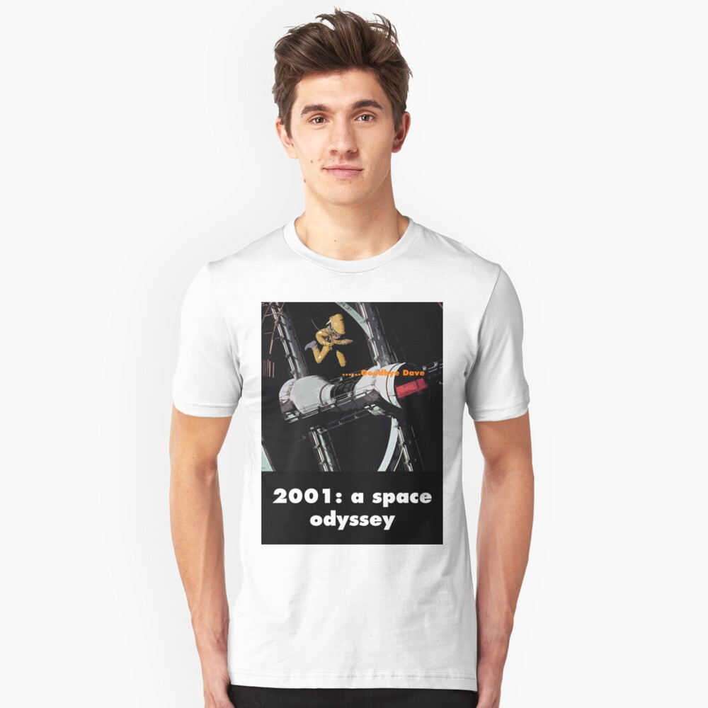 2001: a space odyssey Unisex T-Shirt Front