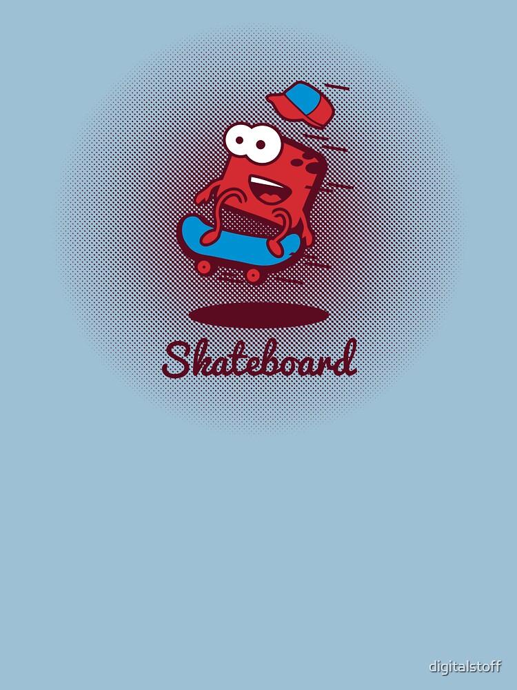 Digi-Fitties: Skateboarding by digitalstoff