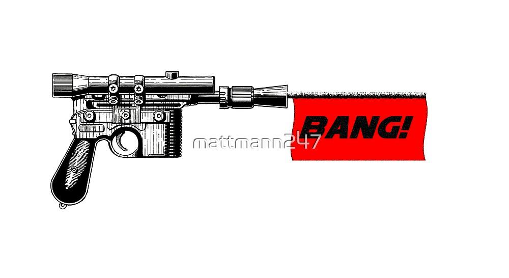 """DL-44 """"Bang!"""" by mattmann247"""