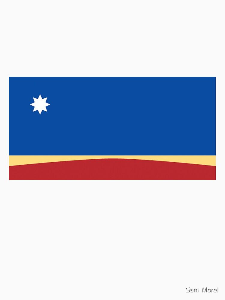 Australian Flag by BlackCrow