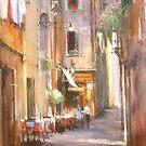 Restaurant of the alley by vasenoir