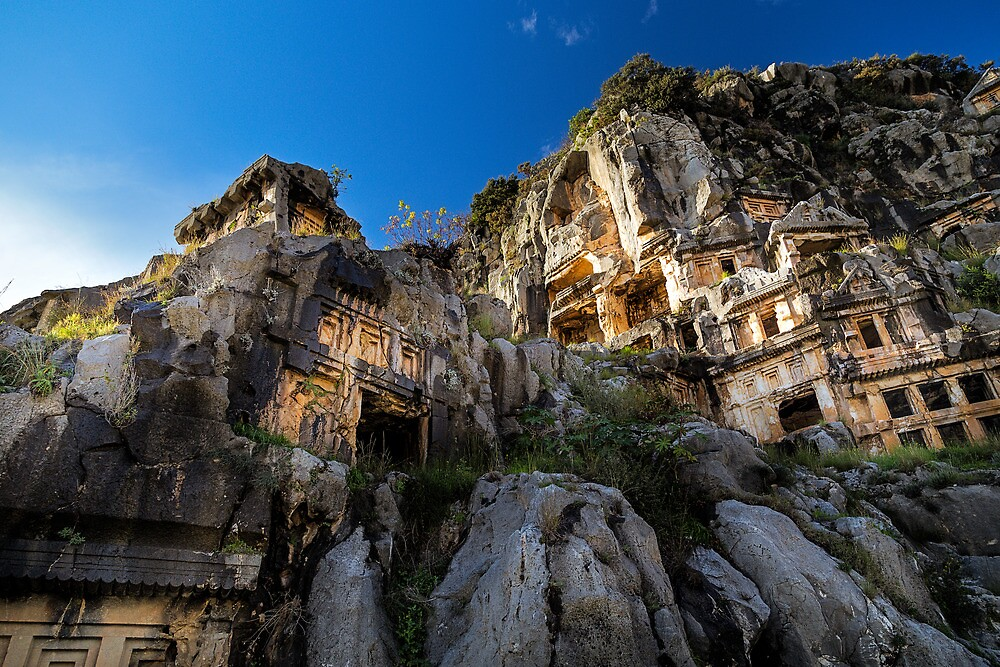 Lycian Ruins at Myra: Demre, Turkey by Cabot Trail Pathfinders