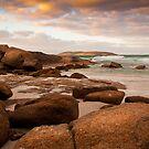 Twilight Beach Esperance by Peter Rattigan