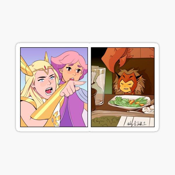 She-Ra Crier À Catra Meme Sticker