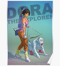 Dora the explorer BADASS Poster