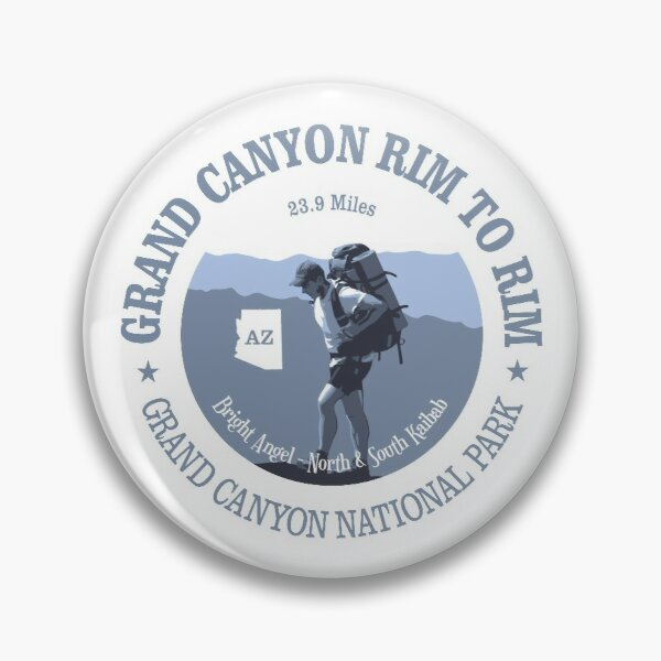 Grand Canyon Rim to Rim Trail (BG) Pin