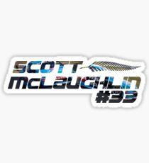 Scott McLaughlin - V8 Supercars Art #33 Sticker