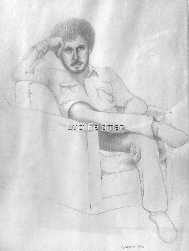 """Afro"" Mike - 1980 by Luci Feldman"