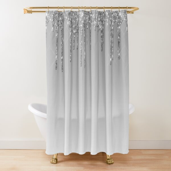 Glitter Shower Curtains Redbubble