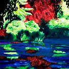 Blue swamp by Luigi Maria De Rubeis