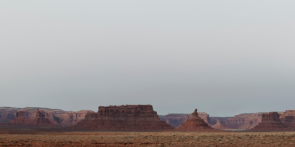 Valley Of The Gods by Mike Herdering