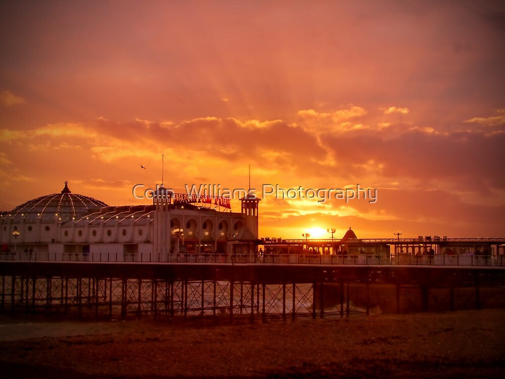 Big Sky - Brighton Pier - HDR by Colin  Williams Photography