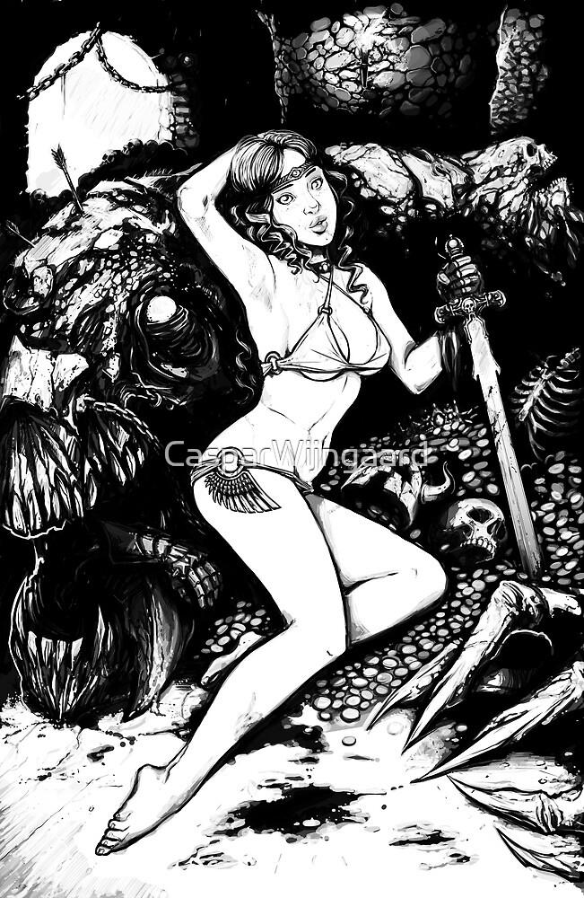 Pin up Slayer by CasparWijngaard