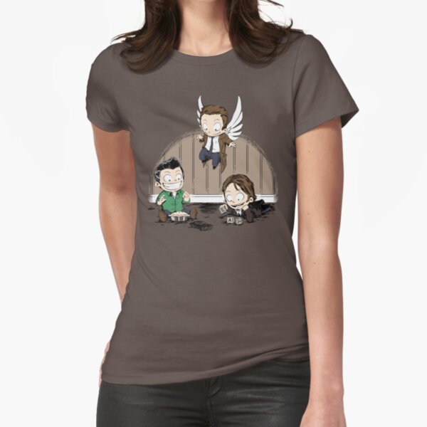 Supernatural kids Fitted T-Shirt