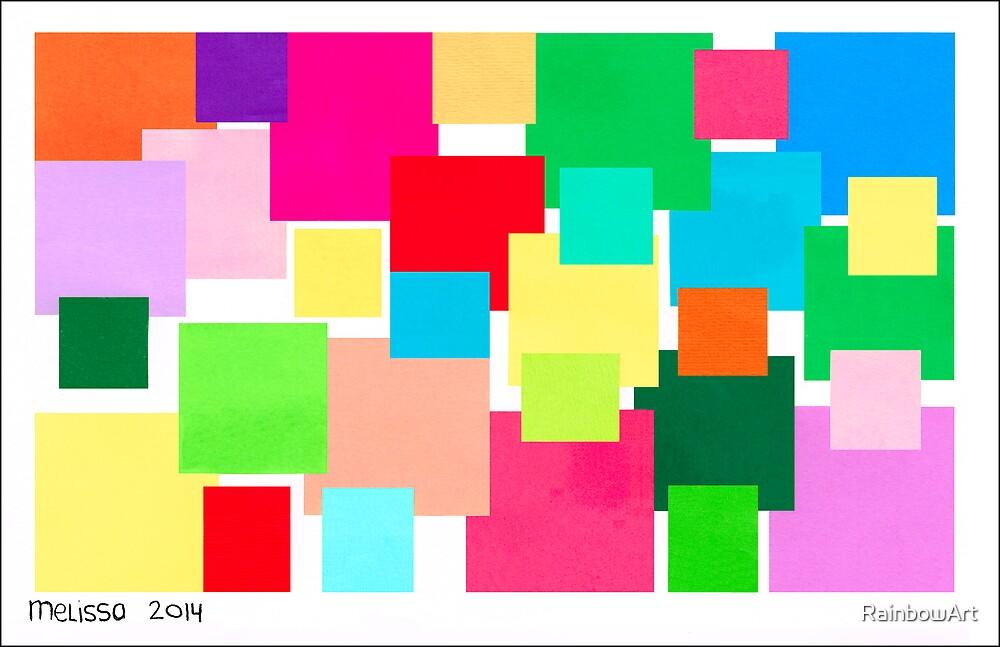 COLOUR CUBE ART by RainbowArt